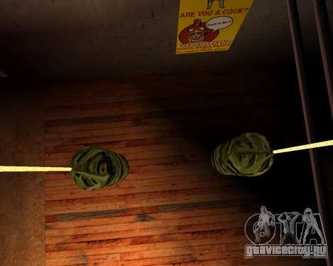 Новая военная боксёрская груша для GTA San Andreas четвёртый скриншот