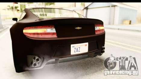 GTA 5 Dewbauchee Rapid GT SA Style для GTA San Andreas вид снизу