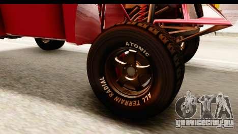 GTA 5 Desert Raid IVF для GTA San Andreas вид сзади