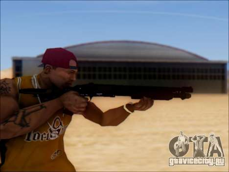 GTA V Shrewsbury Pump Shotgun для GTA San Andreas третий скриншот