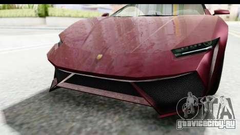 GTA 5 Pegassi Reaper v2 IVF для GTA San Andreas вид сбоку