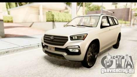 GTA 5 Benefactor XLS SA Style для GTA San Andreas