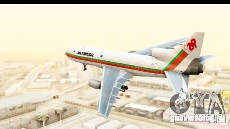 Lockheed L-1011-100 TriStar TAP Portugal для GTA San Andreas вид справа