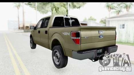 Ford F-150 Stock для GTA San Andreas вид слева