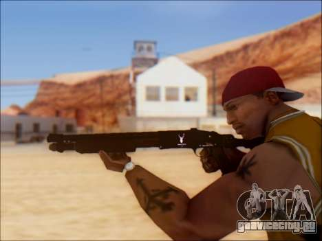 GTA V Shrewsbury Pump Shotgun для GTA San Andreas четвёртый скриншот