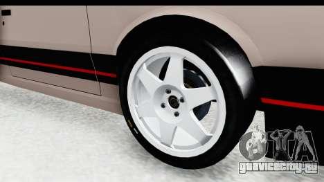 Peugeot 309 GTi для GTA San Andreas вид сзади