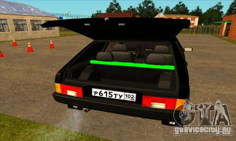 ВАЗ 2108 для GTA San Andreas вид справа