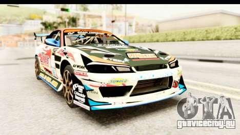 D1GP Nissan Silvia RC926 Toyo Tires для GTA San Andreas
