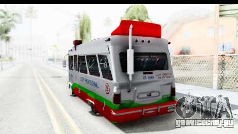 Dodge 300 Microbus для GTA San Andreas вид слева