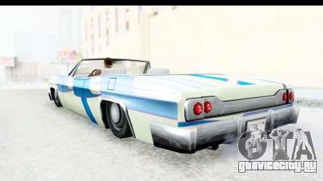 Blade New PJ для GTA San Andreas вид изнутри