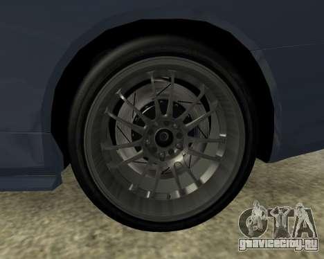 Nissan Skyline Armenia для GTA San Andreas вид сбоку