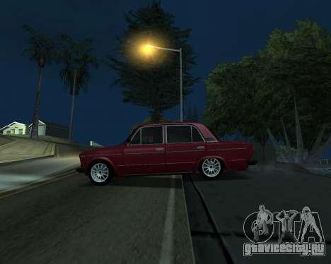 ВАЗ 2106 Armenian для GTA San Andreas вид сзади