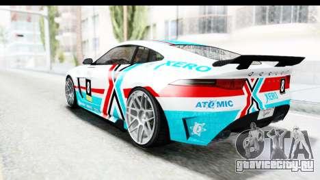 GTA 5 Ocelot Lynx IVF для GTA San Andreas двигатель