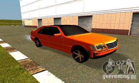 Mercedes Benz S600 AMG для GTA San Andreas