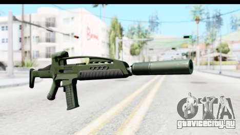 H&K XM8 Silenced для GTA San Andreas