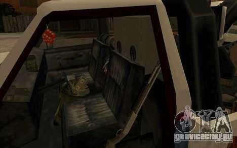 Новый эвакуатор для GTA San Andreas вид сзади