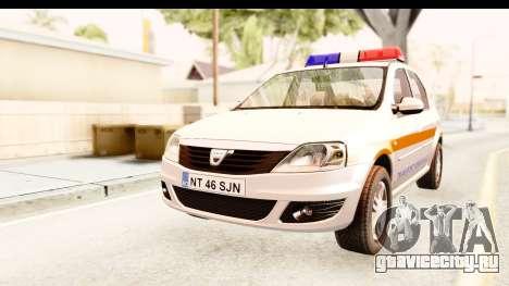Dacia Logan Facelift Ambulanta v2 для GTA San Andreas