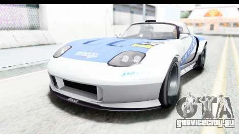 GTA 5 Bravado Banshee 900R Mip Map IVF для GTA San Andreas салон