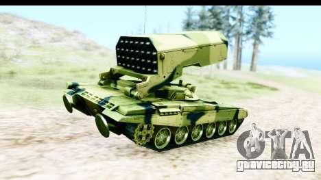 TOS-1A для GTA San Andreas вид сзади слева