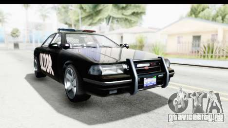 Vapid ULTOR Police Cruiser для GTA San Andreas вид справа