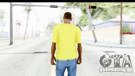 Adidas Thor T-Shirt для GTA San Andreas третий скриншот
