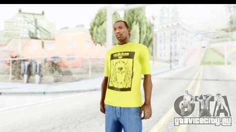 Adidas Thor T-Shirt для GTA San Andreas второй скриншот