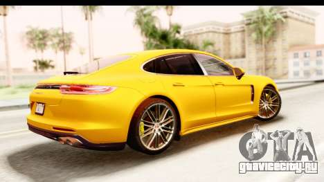Porsche Panamera 4S 2017 v3 для GTA San Andreas вид слева