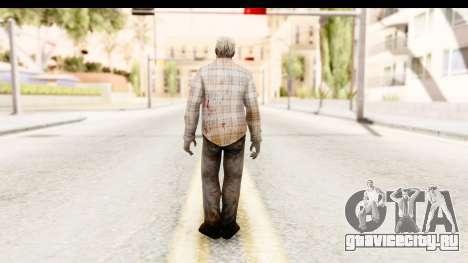 Left 4 Dead 2 - Zombie Shirt 2 для GTA San Andreas третий скриншот