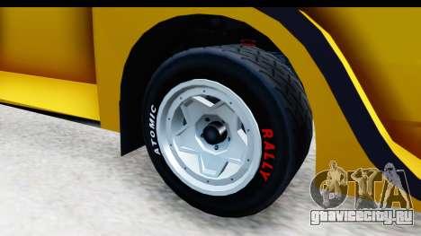 GTA 5 Obey Omnis IVF для GTA San Andreas вид сзади