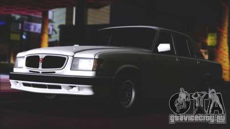 ГАЗ 3110 Качественный Сток для GTA San Andreas вид справа
