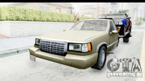 Limousine Auto Transporter для GTA San Andreas вид справа