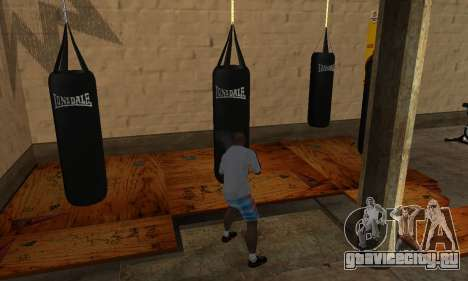 Боксёрская груша LonsDale для GTA San Andreas третий скриншот