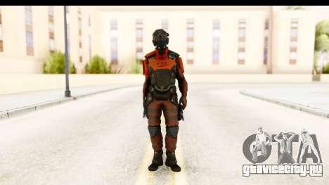 Homefront The Revolution - KPA v5 Red для GTA San Andreas второй скриншот