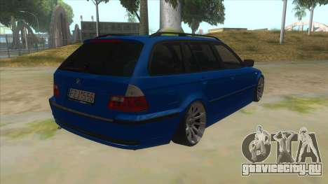 BMW E46 Touring Facelift для GTA San Andreas вид справа