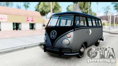 Volkswagen Transporter T1 Deluxe Bus для GTA San Andreas