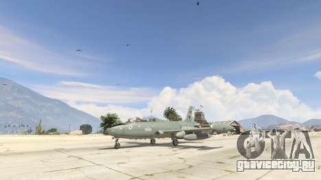 AT-26 Impala Xavante ARG для GTA 5 второй скриншот