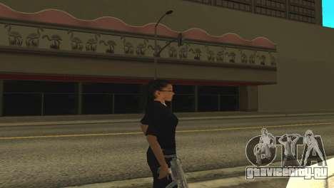 Скин женщины-полицейского для GTA San Andreas второй скриншот