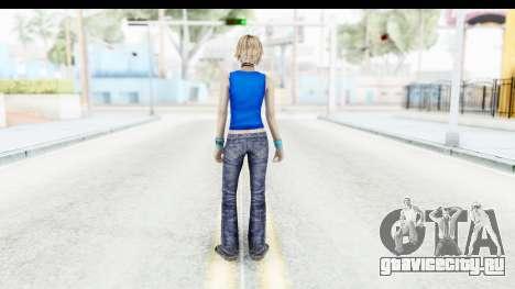 Silent Hill 3 - Heather Sporty Super Girl для GTA San Andreas третий скриншот