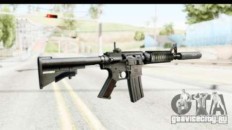 AR-15 Silenced для GTA San Andreas второй скриншот