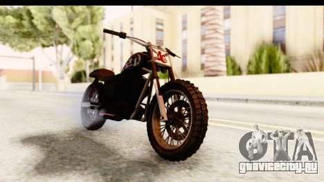 GTA 5 Western Cliffhanger Custom v1 для GTA San Andreas вид справа