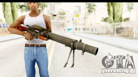 Lewis Machinegun для GTA San Andreas третий скриншот
