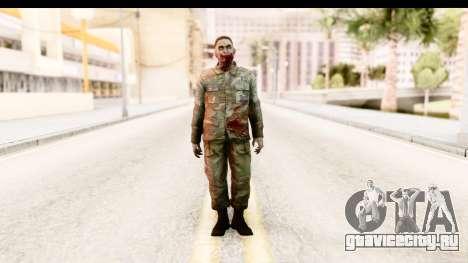 Left 4 Dead 2 - Zombie Military для GTA San Andreas второй скриншот