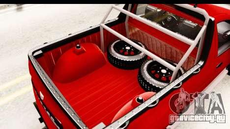 Dacia Duster Pickup для GTA San Andreas вид сбоку