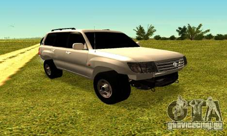 Toyota Land Cruiser 105V для GTA San Andreas