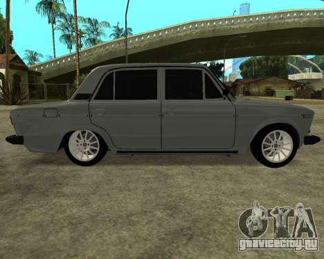 ВАЗ 2106 Armenian для GTA San Andreas вид слева