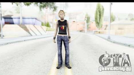 Silent Hill 3 - Heather Sporty Black Pennywise R для GTA San Andreas второй скриншот