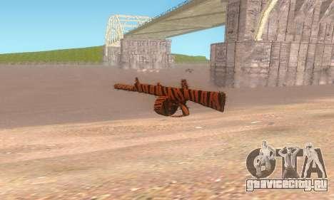 AA-12 для GTA San Andreas второй скриншот