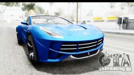 GTA 5 Dewbauchee Seven 70 для GTA San Andreas
