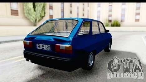 Dacia Liberta для GTA San Andreas вид справа