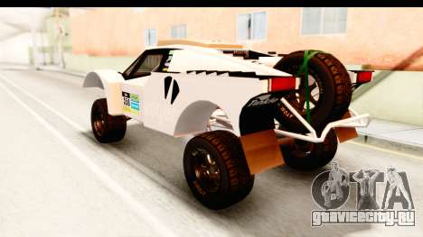 GTA 5 Desert Raid IVF для GTA San Andreas салон